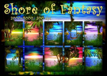 Shore Of Fantasy by KlaraKay