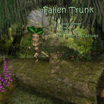 Fallen Trunk (freebie) by AelinNamarie