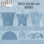 Greek and Roman brushes (freebie) by AelinNamarie