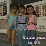 Sisters poses for K4 by AelinNamarie