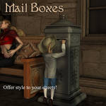 Mailboxes by AelinNamarie