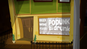 Podunk n Drunk - The local bar scene in Podunkton