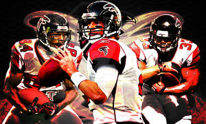 Atlanta Falcons 3 Stars Poster