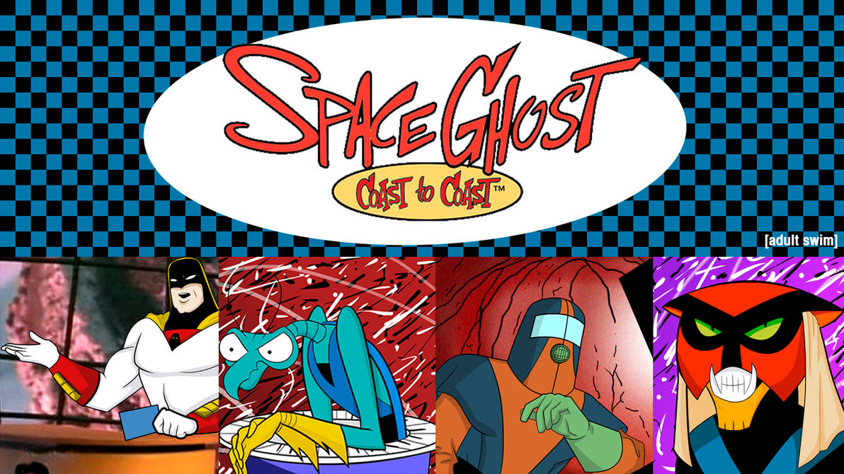 Space Ghost Coast to Coast Desktop Background by PhoenixPhantomRise