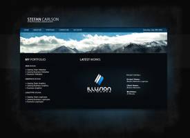 Personal Portfolio Website v2 by zblowfish