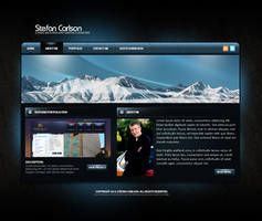 Personal Portfolio Website V4 by zblowfish