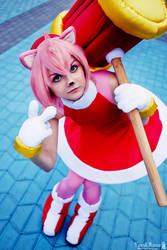 Amy Rose - [Sonic Heroes] by Yami-Ross