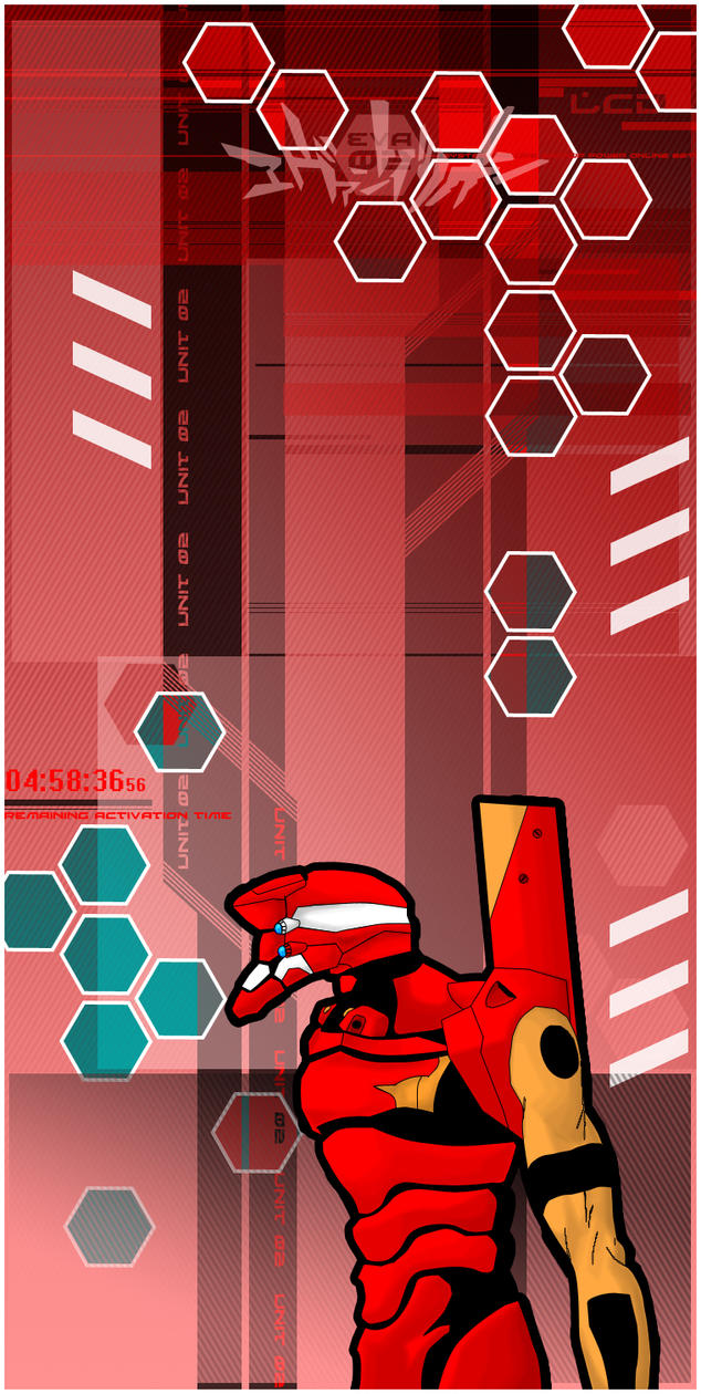 EvaNGeLioN Unit 02 By War Machine