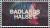 Halsey Badlands Stamp F2U by amberisrad