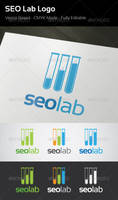 SEO Lab Logo by flatsguts
