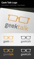 Geek Talk Logo by flatsguts