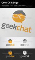 Geek Chat Logo by flatsguts