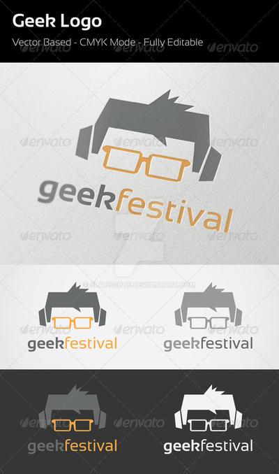 Geek Festival Logo by flatsguts