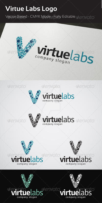 Virtue Labs Logo by flatsguts
