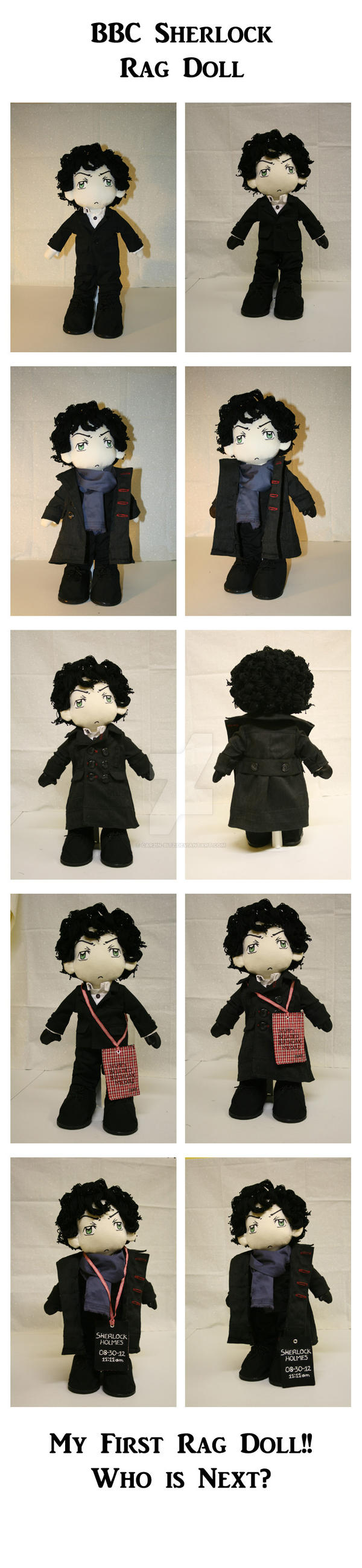 BBC Sherlock--Rag Doll by car2in-bitz