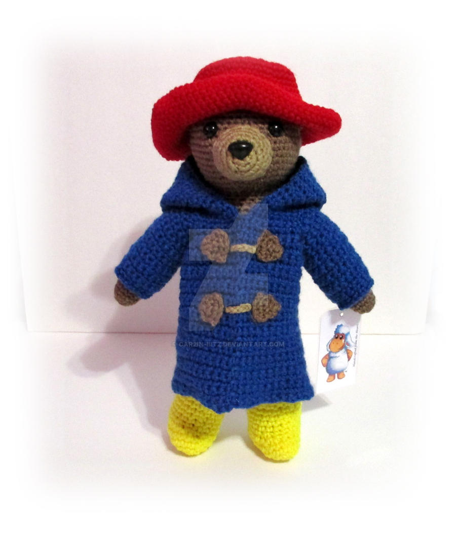 Amigurumi Paddington Bear : Paddington Bear -- Amigurumi by car2in-bitz on DeviantArt