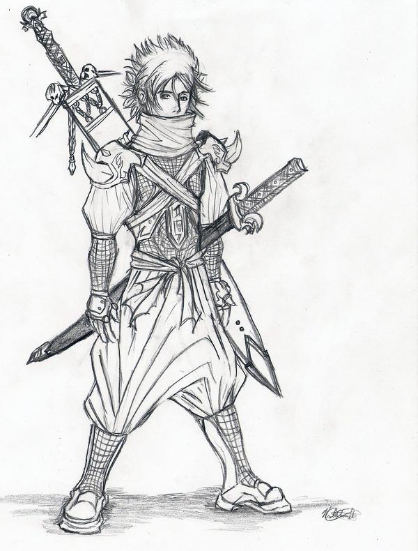 Hikaru Takahashi  The_Ninja_by_unityx3