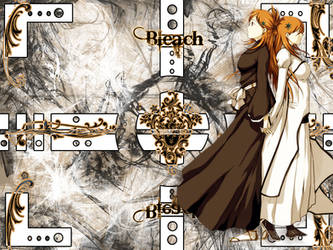 Bleach wall Project- Orihime by unityx3