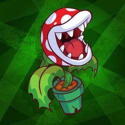 Piranha Plant by eKarasz
