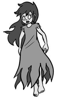 Inktober 22 - Ghost Child