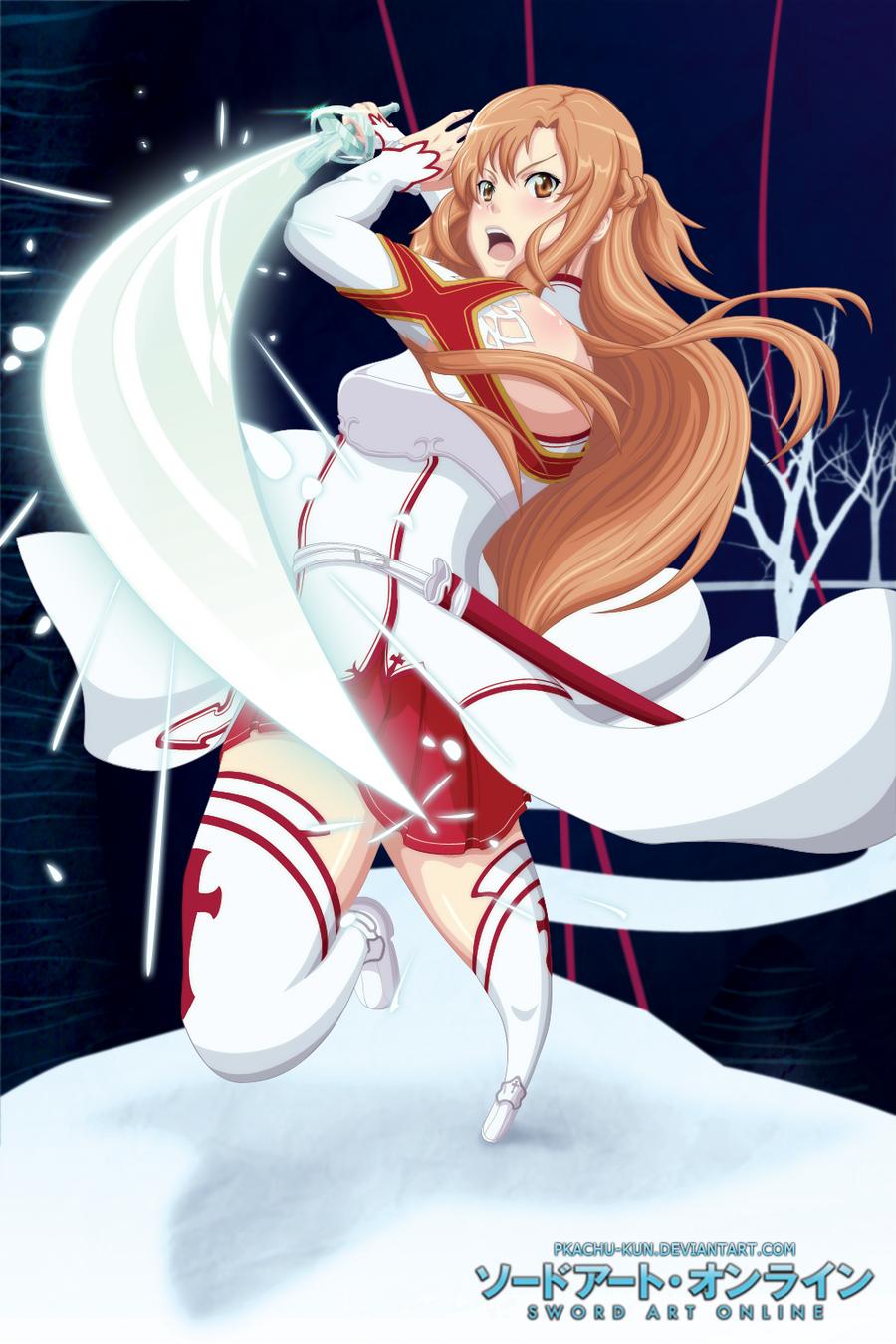 Asuna by pkachu-kun