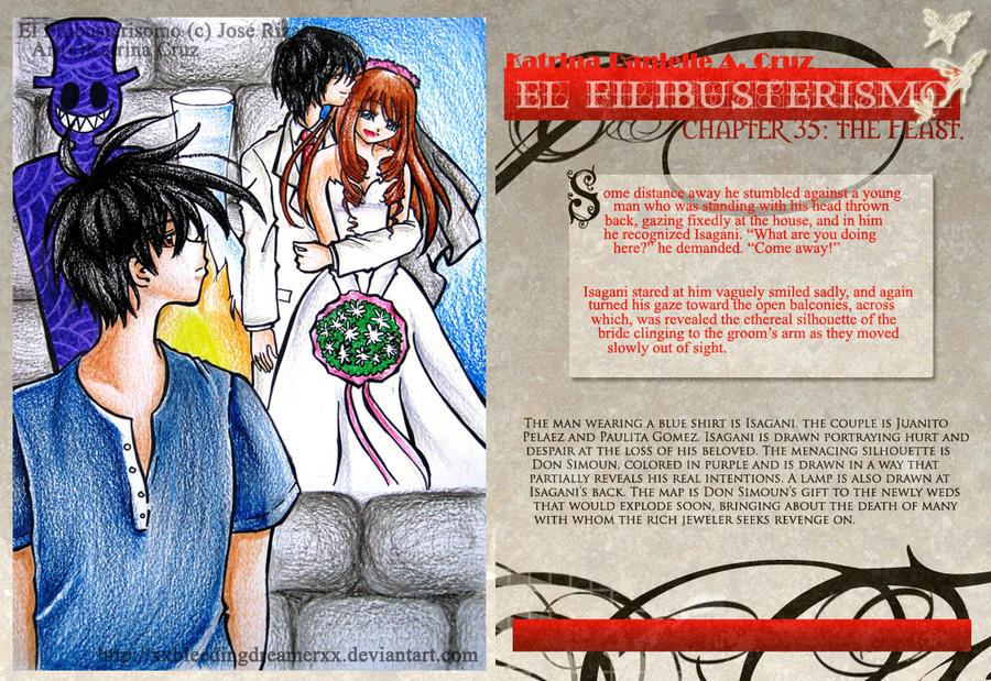synopsis of noli and el fili Summary manila newspapers talk about the good things ibarra has done and  urge  basilio (in the el fili) will cure that leper and will receive, in payment,  maria.