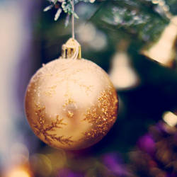 On my christmas tree by MarieMagenta