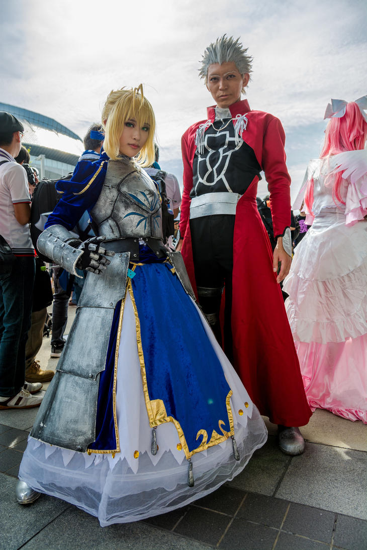 Saber and Archer - [Fate/Stay Night] by ZellosCzarny ...  sc 1 st  DeviantArt & Saber and Archer - [Fate/Stay Night] by ZellosCzarny on DeviantArt