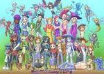 Terraria fan-art: NPCs and Minions [TCF 2nd Annv]