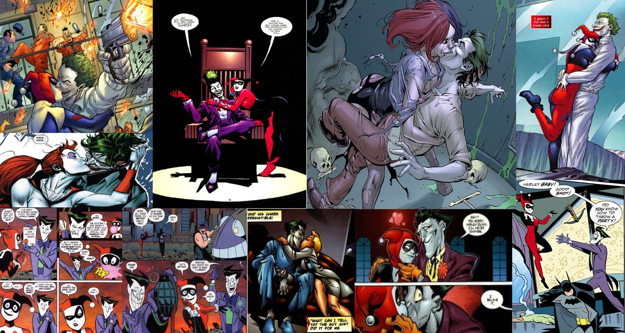 Серия Знакомства Харли И Джокера
