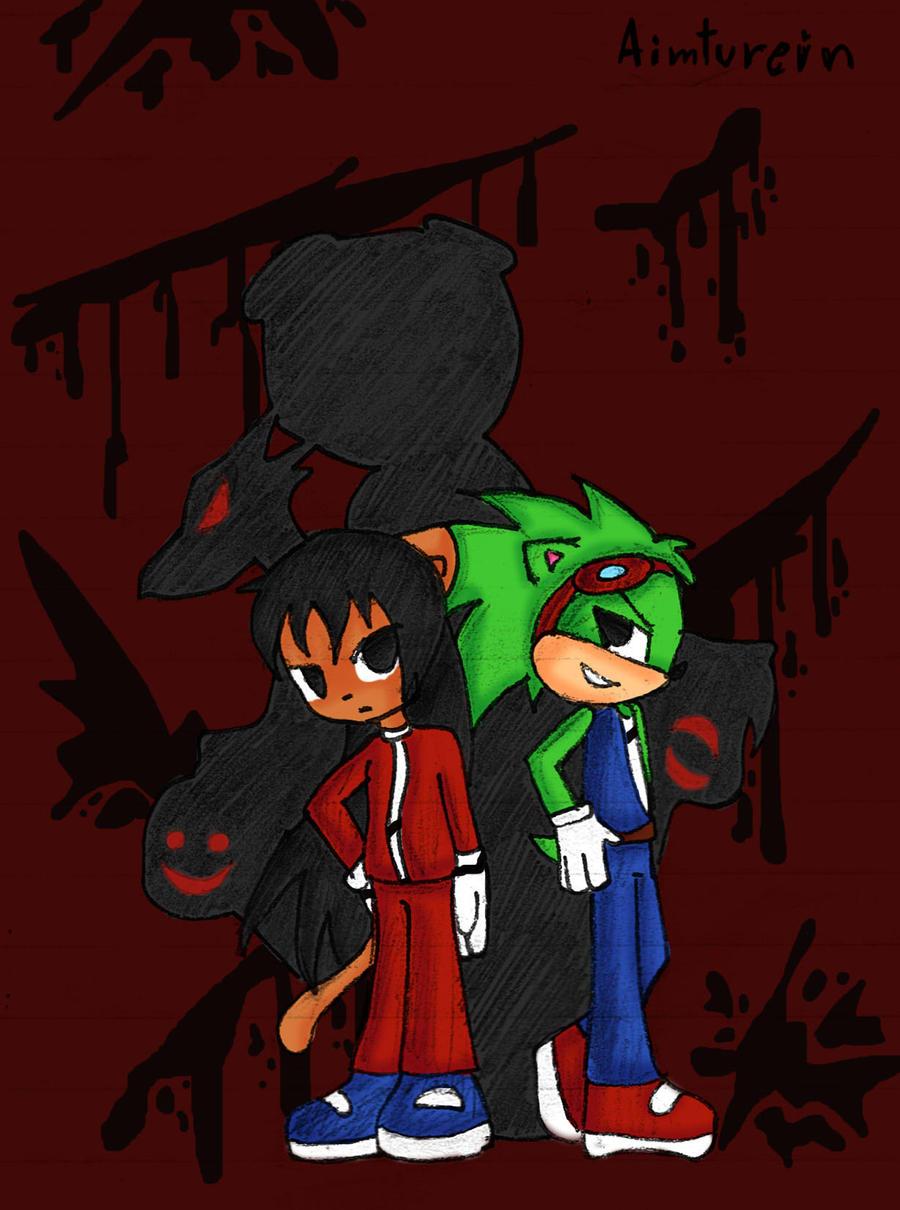 Pc black blood gang by aimturein on deviantart - Blood gang cartoon ...