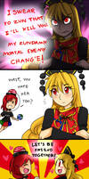 Touhou Comics: The friendship is born..