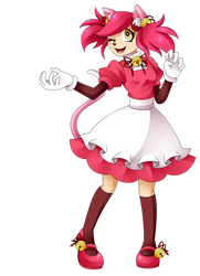 mad mew mew but she is not mad