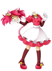 mad mew mew but she is really mad