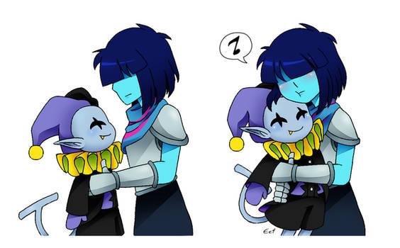 Hug dat Jevil