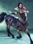 Female Centaur Warrior
