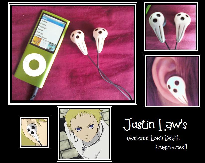 Justin Law's Death Headphones by tenshiketsueki1000