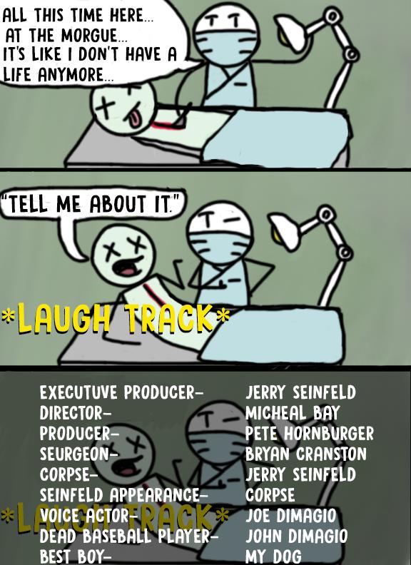 Sitcom Comic by johnLenonnade