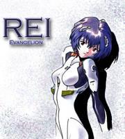 Rei Evangelion by NessaElf