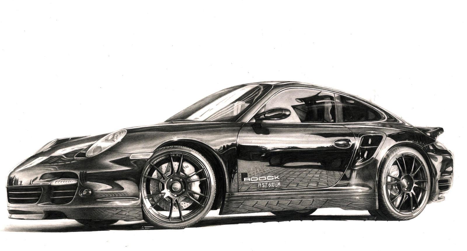 Roock Porsche 911 Turbo R By Dron4ik On DeviantArt
