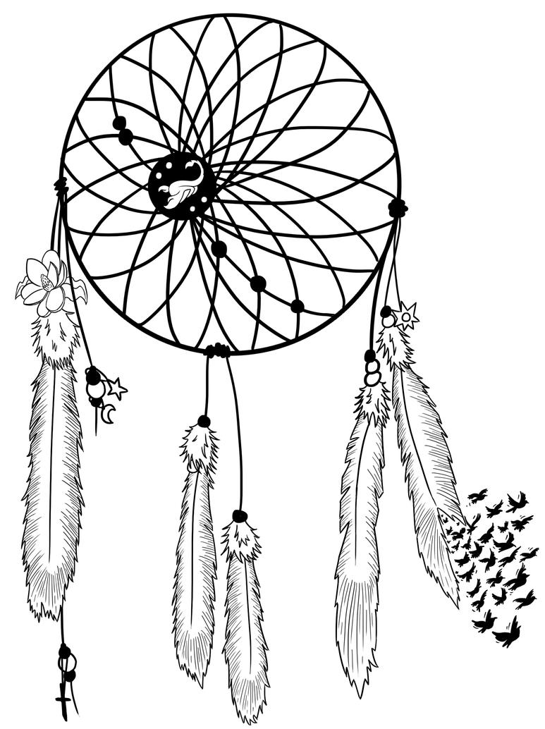 Dream catcher tattoo design by rydelio on deviantart dream catcher tattoo design by rydelio pronofoot35fo Choice Image