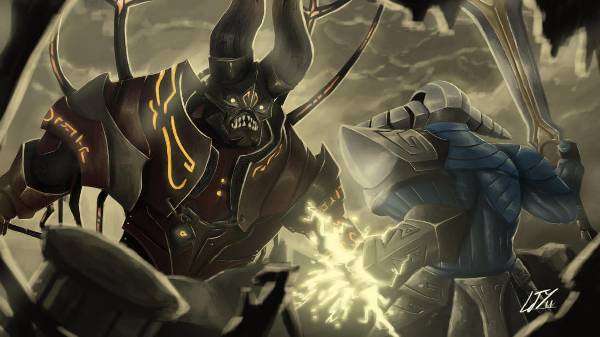 Dota 2 Speak Of The Devil By Rydelio On Deviantart