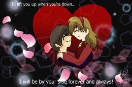 Kohaku and Harumi -Forever And Always- by xXTetrisKitsuneXx