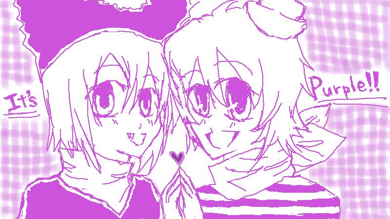 it's purple by yuyujiteki