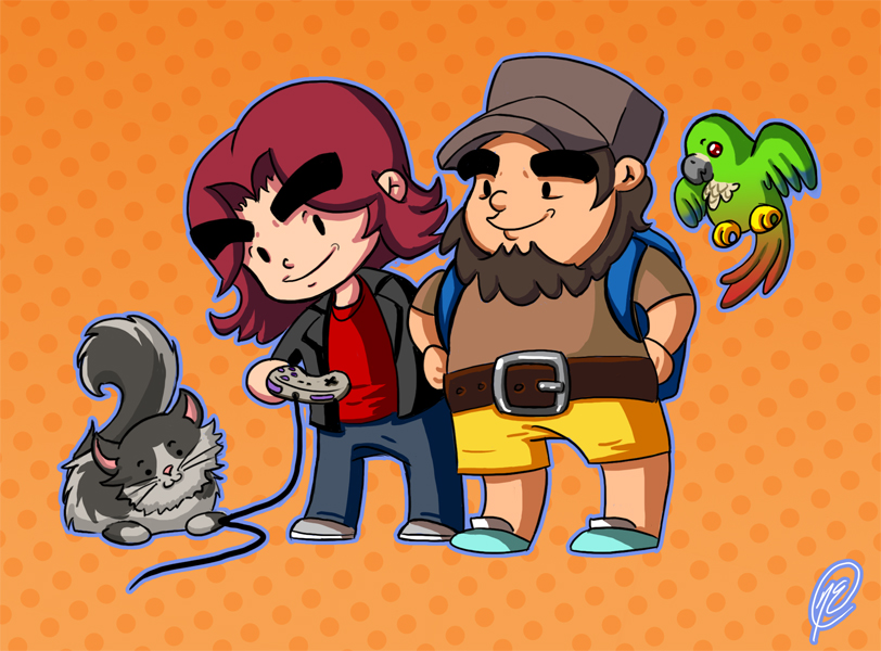 The Game Grumps by NataneEklund