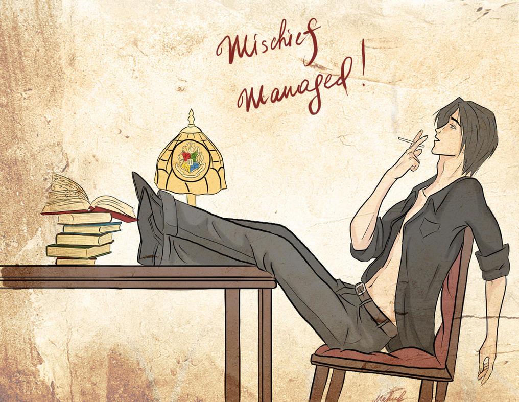 Mischief Managed! by MashaCh