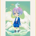 Blue Angel boy