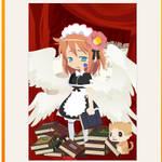 Angel maid girl
