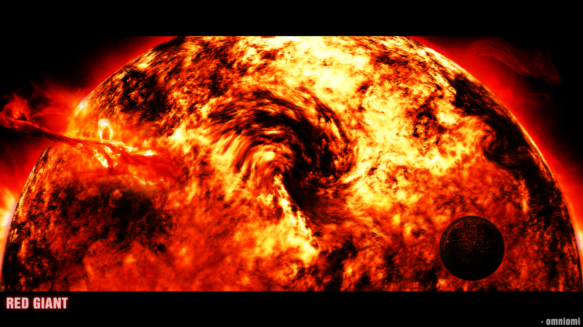 europa under red giant sun - photo #13