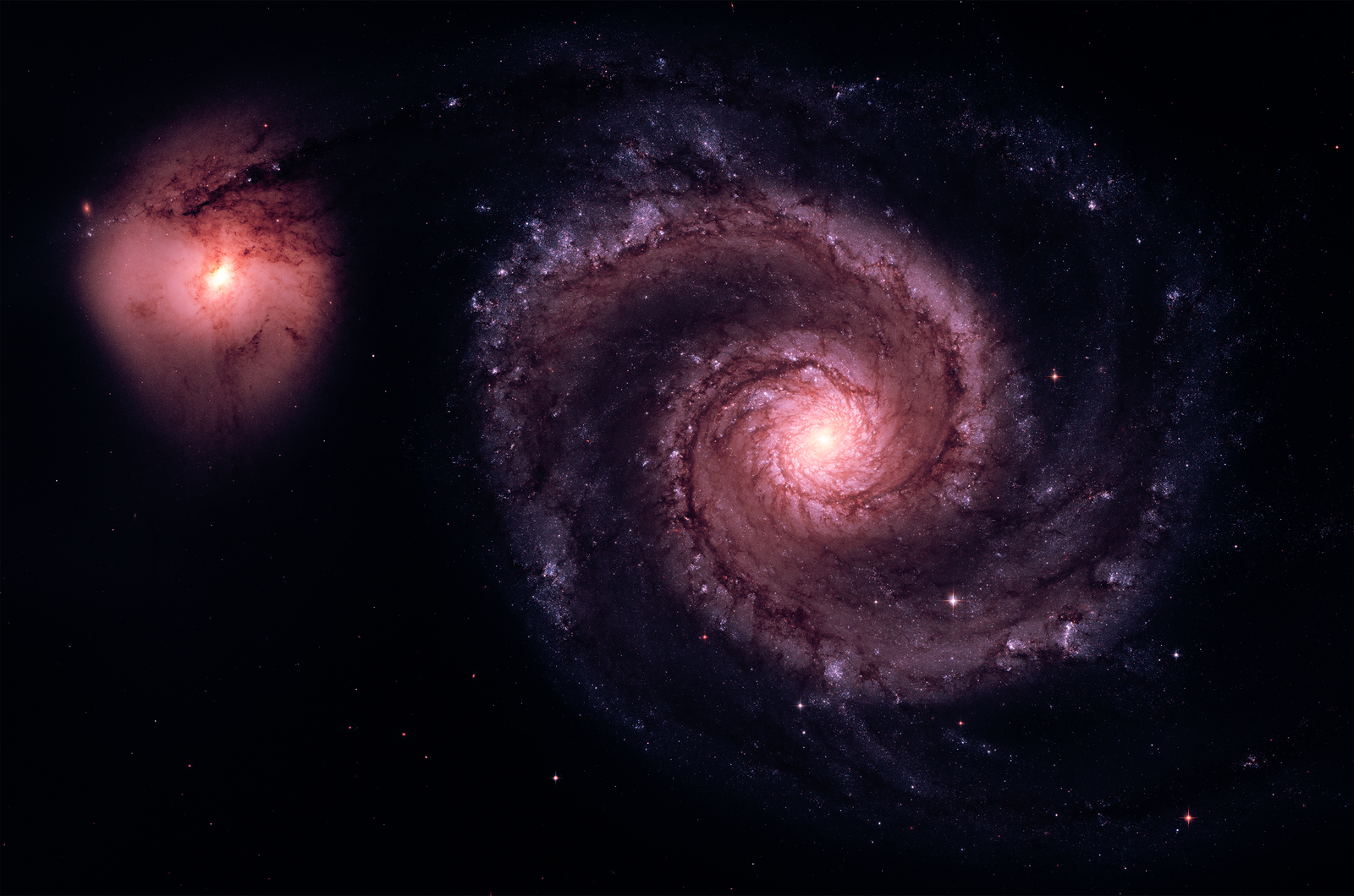 M51 - The Whirlpool Galaxy [Real Space] by omniomi